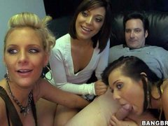 Phoenix Marie, Beverly Hills and Audrianna Angel are three horny
