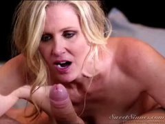 Milf Julia Ann finds the older man a good fuck