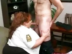 HOT ALLIED BARTON SSBBW SECURITY OFFICER!