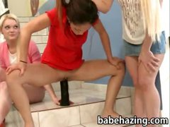 The sisters make thses two girls hazed and punished