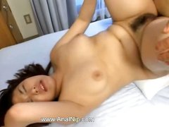 Asian cunt fucked and posed hard