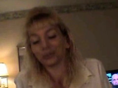 Dirty Blonde Amateur Crack Whore Sucking On A Dick