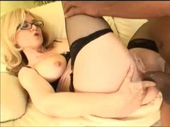 Nina Hartley and a huge cock black lover