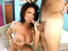 Milf Deauxma suck and fuck