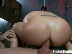 Cute Slut Rachel Roxxx Analed Hard and Sucking - PunishThatBitch.com