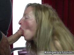 Horny German tourist gets his big dick part1