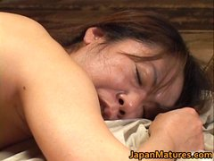 Japanese mature lady has hot lesbian sex part1
