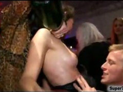 Wild Sex Party With Cock Sucking